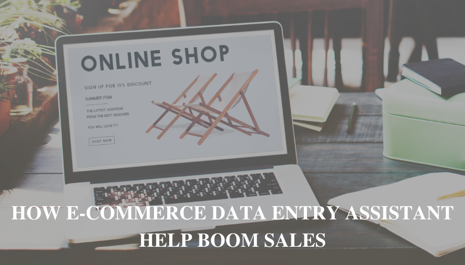 How E-commerce Data Entry Assistant Help Boom Sales